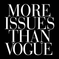 More Issues than Vogue Black Art Print by RexLambo