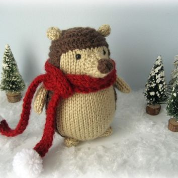 Sale - Amigurumi Hedgehog Pattern Knit Digital Download