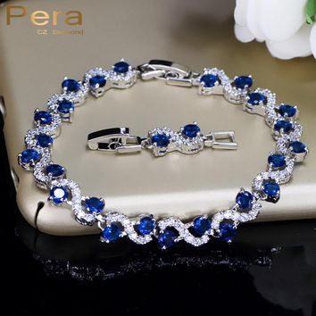 Elle // Royal Blue Stone Bracelets