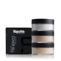 Magical Halo Brand Long-lasting Matte Loose Powder Transparent Oil-control Brighten Makeup Compact Powder Contour Setting Powder