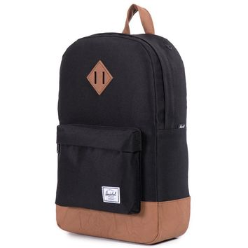 Heritage Mid Volume Backpack in Black by Herschel Supply Co.