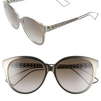 Christian Dior 56mm Cat Eye Sunglasses | Nordstrom