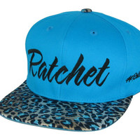 TWO COLOR CHOICES Leopard Cheetah Snake Skin Print Ratchet Snap Back