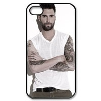 Adam Levine Hard Plastic Back Cover Case for iphone 4 4s A05
