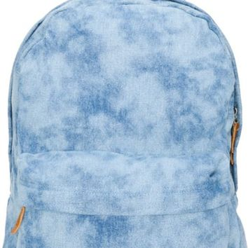Vans Girls Deserted Snake Tie Dye Denim Backpack
