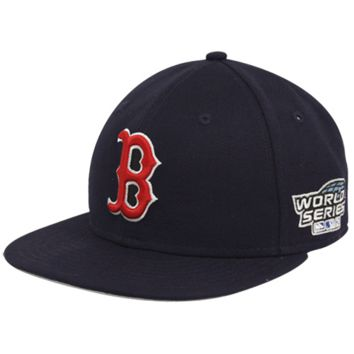 New Era Boston Red Sox Navy Blue 2004 World Series 59FIFTY Fitted Hat