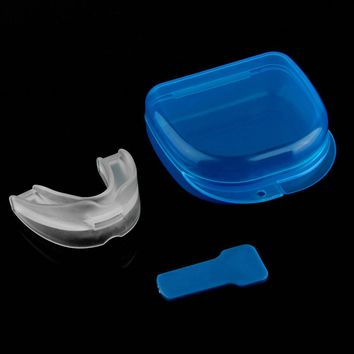 Dental Stop Anti Snoring Solution Device Snore Stopper Mouthpiece Tray Stopper Sleep Apnea Mouthguard Health Care New Quality