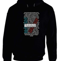 Twenty One Pilots Guns For Hands Hoodie