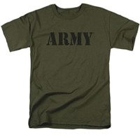 U.S. Army Military Green T-Shirt