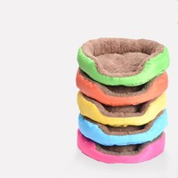 2016 New Arrival Pet Bed Soft Material Dogs Mat Pets House Cat Warming Bed Puppy Sleeping Nest