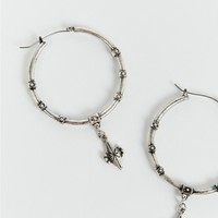 Minc Collections Silver Daydreamer Hoops