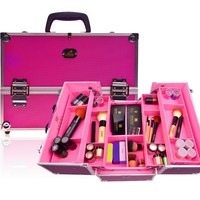 SHANY Cosmetics Premium Collection Aluminum Makeup Train Case