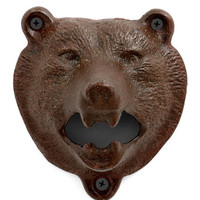 ModCloth Dorm Decor Bear Bottle Opener