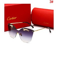 Cartier Stylish Women Men Casual Summer Sun Shades Eyeglasses Glasses Sunglasses 3#