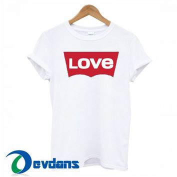 Love Levi's T Shirt For Women And Men Size S To 3XL | Love Levi's