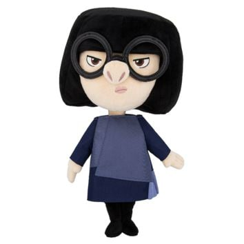 Disney Edna Mode Plush Incredibles 2 Doll New With Tags