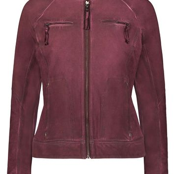 Freya Textured Moto Jacket