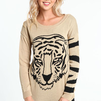 TIGER STRIPES SWEATER