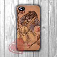 Beauty and The Beast dancing love quotes -54R for iPhone 4/4S/5/5S/5C/6/ 6+,samsung S3/S4/S5,samsung note 3/4