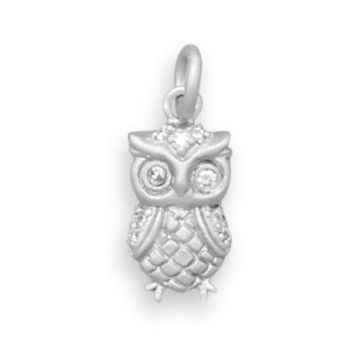Mini Twinkling Owl Necklace