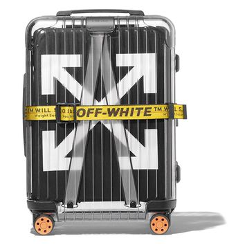 Transparent Rimowa Suitcase by OFF-WHITE