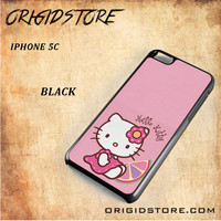 Hello Kitty Pink Lemon For Iphone 5C Case - Gift Present Multiple Choice