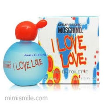 I Love Love Perfume By Moschino For Women