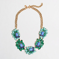 Factory wave cluster necklace