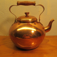 Copper Tea Kettle Made in Portugal