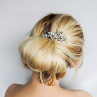 Swarovski Crystal Hair Pins/ Hair Pins/ Bridal Hair Accessories/ Wedding Hair Accessories/ Bridal hair pin