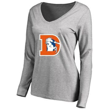 87d0837c Shop Denver Broncos Long Sleeve T Shirt on Wanelo