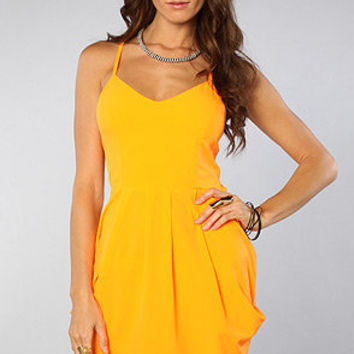 The Beach Party Dress in Citrus
