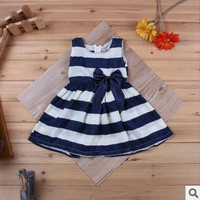 Stripe Spring Infant Dress