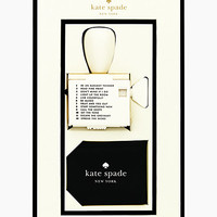 Kate Spade Rotating Stamp With Pad Black ONE