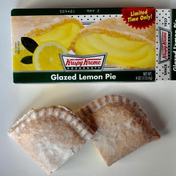 Krispy Kreme Lemon Filled Pies 4-oz 6-pack