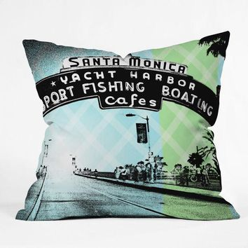 Santa Monica Pier pillow
