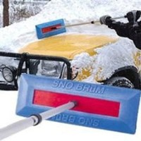 Sno Brum Original Snow Removal Tool with Telescoping Handle by Sno Brum - Best Buy Shop