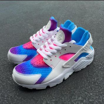 DCCKGV7 Best Online Sale Nike Air Huarache 1 Multicolor Men Women Hurache Running Sport Casual Shoes Sneakers - 10