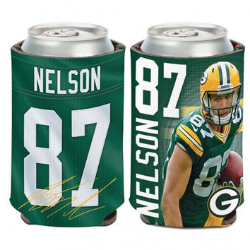 Green Bay Packers Jordy Nelson Can Cooler