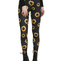 Blackheart Sunflower Leggings