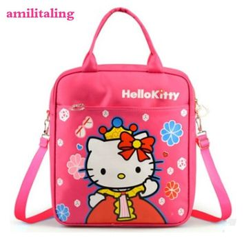 New Cute Hello Kitty Backpack Bag School Bags Purse yey-2128