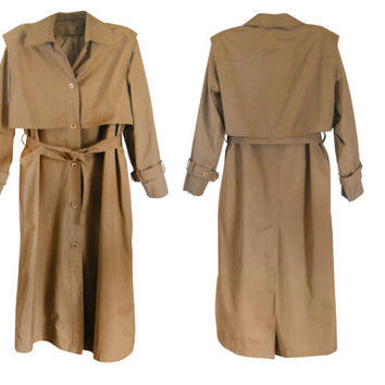 Women Trench Coat Tan Trench Coat Rain Flap Coat Belted Trench Coat Long Trench Coat Classic Trench Coat Long Coat Women Ladies Coat Spring