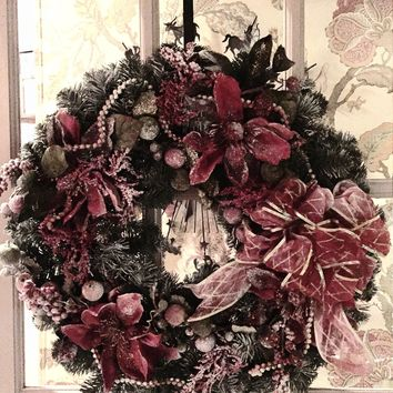 The Oily Essentials Arrangements Christmas Wreath