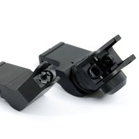 Black Ops Tactical AR15 Front and Rear 45 Degree Rapid Transition BUIS Backup Iron Sight