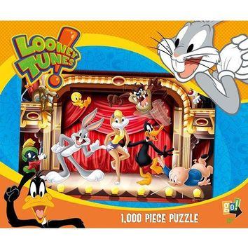 Looney Tunes Rock Stars 1000 Piece Puzzle, 1,000 Piece Puzzles by Go Games