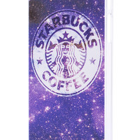 This Is Print Starbuck Coffee in Galaxy Print iPhone 5/5S Case