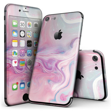 Marbleized Color Paradise V2 - 4-Piece Skin Kit for the iPhone 7 or 7 Plus