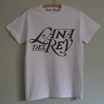 Lana Del Rey white sweatshirt for women T-shirts