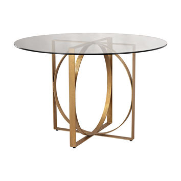 1114-178 Box Rings Entry Table - Free Shipping!