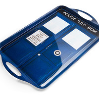 Doctor Who TARDIS Tea Tray